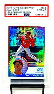 2018-Topps-Chrome-RC-REFRACTOR-JUAN-SOTO-Rookie-Baseball-Card-PSA-10-GEM-MINT