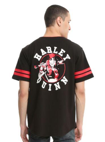 DC COMICS HARLEY QUINN BASEBALL JERSEY New with Tags Mens Medium