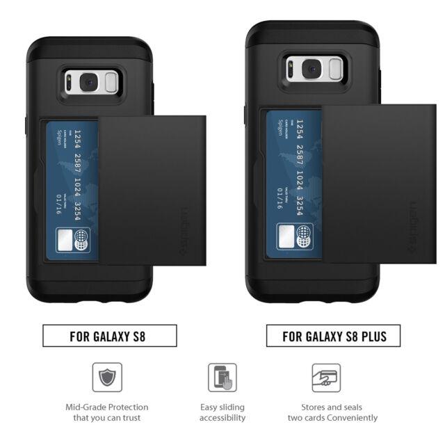 new arrival 74ffb 44d8f Spigen Slim Armor CS Case for Galaxy S8 - Black