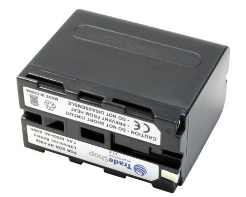 Batería para Sony hdv-fx1 hdv-z1 hdvz 1 hdvfx 1 vcl-es06a plm-100 mvc-fd200