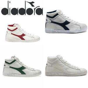 Dettagli su Diadora Game L High Waxed Sneaker Uomo