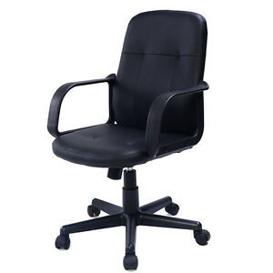 PU Leather Ergonomic Midback Executive puter Best Desk