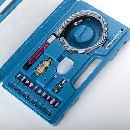 1 8  Bit Mini Micro Pencil Type High Speed Air Die Grinder Tool Kit Grinding