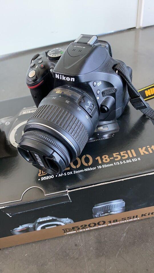 Nikon D5200, spejlrefleks, God