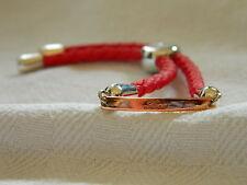 Clogau Silver & 9ct Rose Welsh Gold 'Love' Friendship Bracelet RRP £169.00