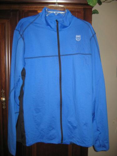 100896-478 K-Swiss Mens Stitched Full Zip Jacket
