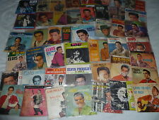 HUGE ELVIS 45 RECORD LOT PICTURE SLEEVES RCA EPA 4041 940 4108 994 4325 RARE 128