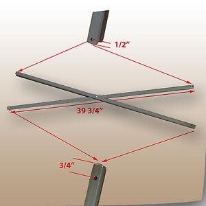 Coleman 13 X13 Straight Leg Instant Canopy Gazebo Side