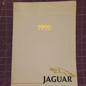1990 Jaguar press kit/brochure XJ6  Majestic Vanden Plas Sovereign