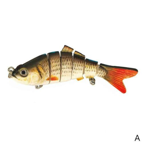 Angeln Wobbler Kunstköder Angelgerät Lebensechte Fischköder 10cm 19g N1O1 U5I1
