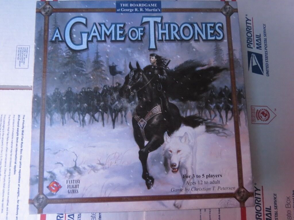 A Game of Thrones the Board Game 1st Edition Complete Out of Print