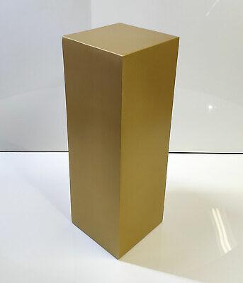 """42/"""" Tall GOLD Display Pedestal Stand Riser Column Pillar Weddings Parties"""
