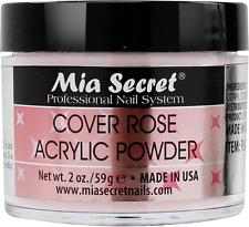 Mia Secret Cover Rose Acrylic Powder 2 oz Nail Bed Professional Nail Systema
