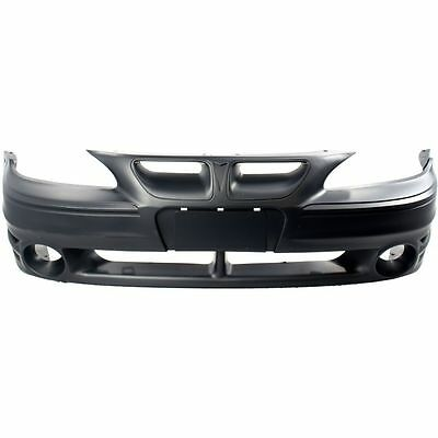 Pontiac Grand Am 99-05 New Bumper Cover Front Gt Model Primed GM1000573