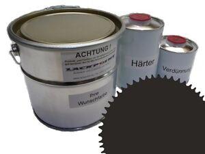 3 Liter Set 2K Floor Coating Ral 6006 Gray-Olive Shine Floor Color Workshop