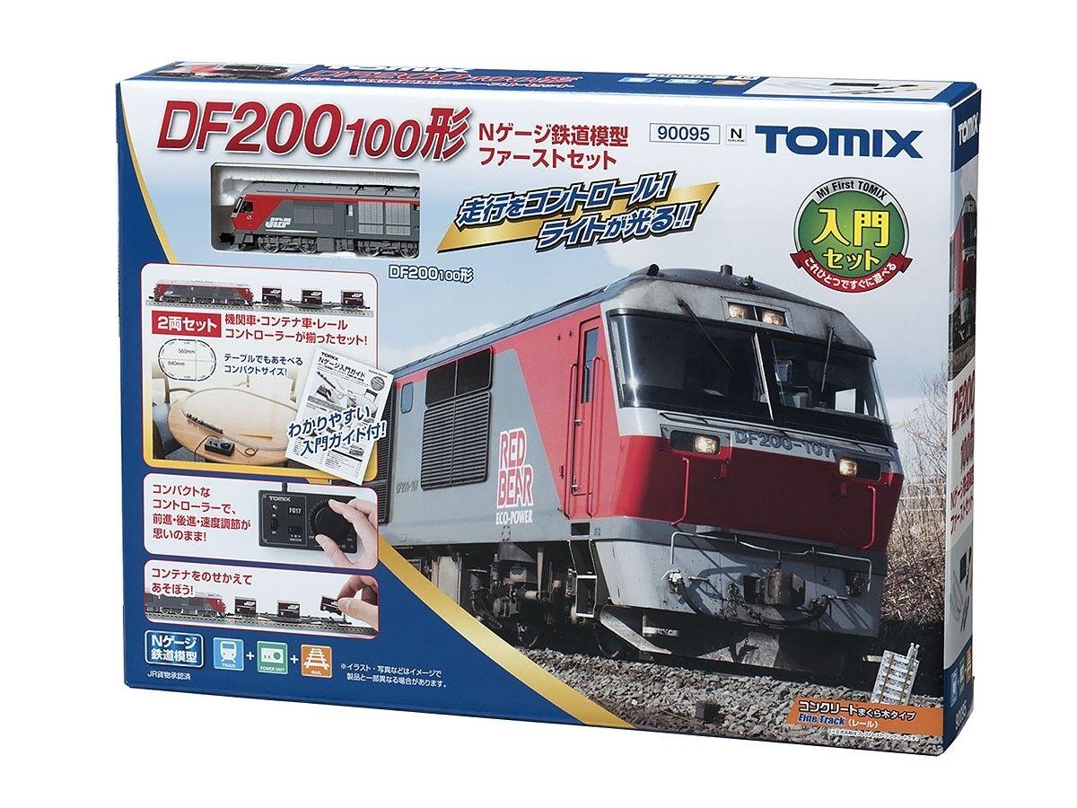 Tomix 90095 Diesel Locomotive Type DF200-100 My First Tomix Set  N scale