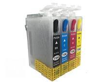 Refillable ink cartridge T124 124 for Epson stylus NX125 NX127 NX130 NX230 NX420