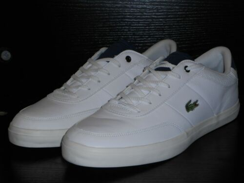 9 £ Rrp 80 Size 5 Off Navy 4171fle Lacoste White Court Cam master 6cpqAw8