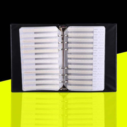 0402 SMD SMT Chip Resistors Assortment 170 Values Assorted Sample Book 8500Pcs