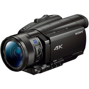 Sony FDR-AX700 4K HDR Camcorder ship from EU nuovo
