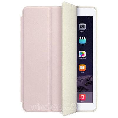 Tri-Fold Magnetic Leather Smart Wake/Sleep Case Cover For Apple iPad Mini Air 2