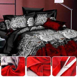 Literie-couverture-3D-animal-housse-de-couette-taie-d-039-oreiller-decoration-maison