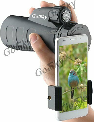 Easy to Use Binocular Digiscoping Spotting Clear Scope View Smartphone Adapter