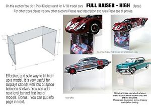 Display-Stand-Support-for-1-18-model-cars-FULL-RISER-HIGH-verison
