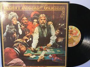 "Kenny Rogers The Gambler VG/VG+ Record Album 12"" Vinyl 33 ..."