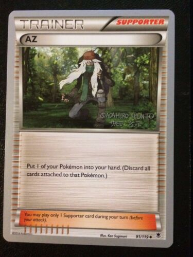 4X AZ (91/119) -2016 World Championship Deck-Shunto Sadahiro-NM Pokemon Promo