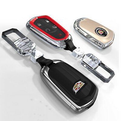 New CAR Remote Key Fob Case Holder Cover Shell Fit For Cadillac CTS SLS SRX XTS