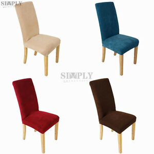 Soft Super Fit Stretch Dining Room Chair Cover Slip Covers