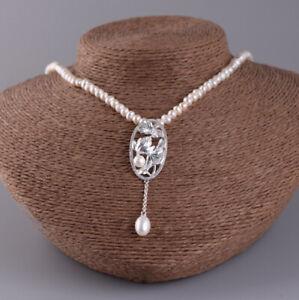 I05-Kette-aus-Suesswasser-Perlen-mit-ovalem-Anhaenger-Silber-925-Lotusblume