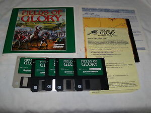 Fields-of-Glory-IBM-PC-1994-3-5-floppy-disks-with-manual
