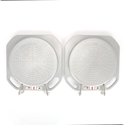 One Pair Durable Car Front End Wheel Alignment Turntable Turn Plates Tools