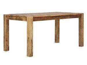 Tisch Esstisch 160x80 Natur Mango Holz Möbel Wohnen Tische Chennai