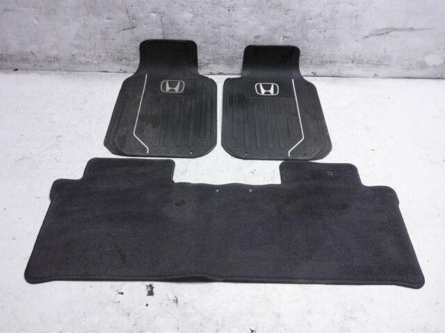 Genuine Oem 2005 2006 Honda Cr V Black Carpet Floor Mats S9a For Sale Online Ebay