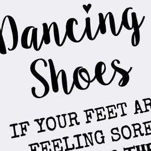 dcf19d133ab5 A5 Metal Dancing Shoes Wedding Flip Flop Basket Sign Decoration