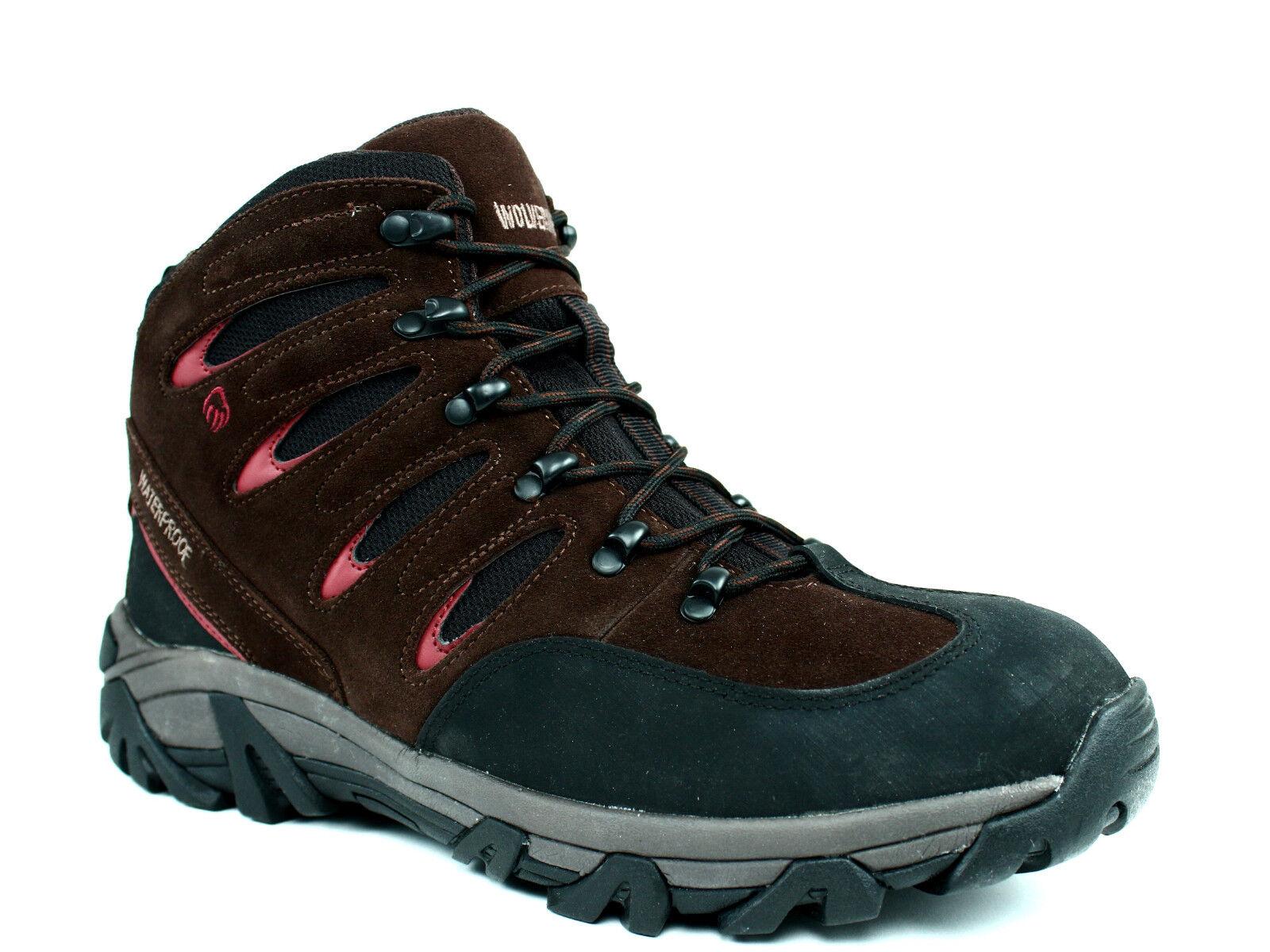 Wolverine HUCK Mid  Water Proof  Slip Resistant  Mens Casual  Work Hiking  Boot