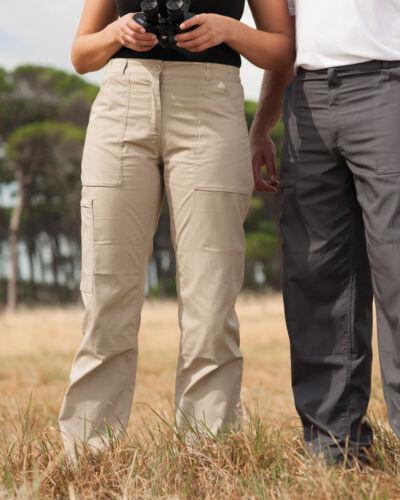 Regatta donna azione Pantaloni Workwear durevole più tasche Repellente a breve