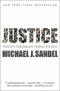 Image Is Loading Justice What 039 S The Right Thing To