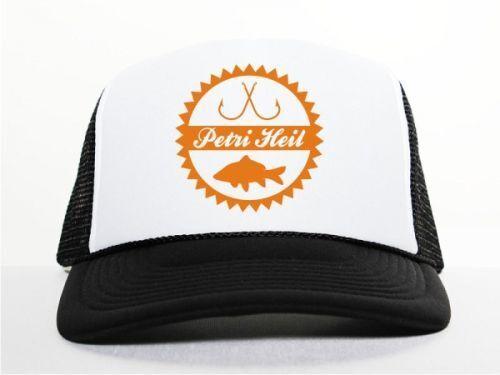Mas9 pesca Petri Heil TRUCKER CAP NERO