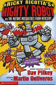Ricky-Ricotta-039-s-Mighty-Robot-vs-The-Mutant-Mosquitoes-from-Mercury-Bk-2-Pilke