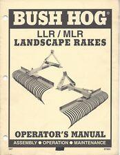 Bush Hog MLR96 8' Landscape Rake for Tractors 96