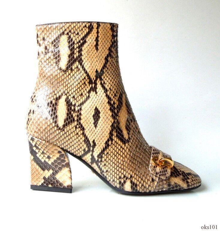 Nuevo  1850 1850 1850 Dior C'est Dior Real python botas al tobillo con logotipo en piel de serpiente CD 34 4-único  Ven a elegir tu propio estilo deportivo.