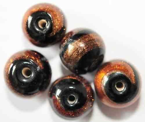 10 abalorios bolas 10 mm Aa1-12