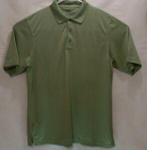 99f6f5e6 PGA Tour Mens XL Neon Green Shiny Slick Short Sleeve Textured Polo ...