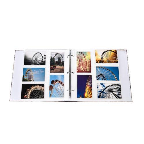 Gran inspirador eslóganes Carpeta de Anillo Álbum de fotos para 500 fotos 4x6/'-DH500