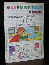 FM727_GLI ALBI DA COLORARE E DISEGNARE de IL MONELLO - Suppl. del n.48 1970
