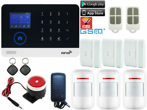 U60 WiFi Cloud APP Internet GSM GPRS Wireless Home Security Alarm